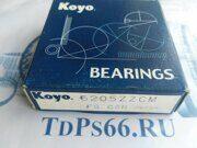 Подшипник     6205 ZZ KOYO -TDPS66.RU