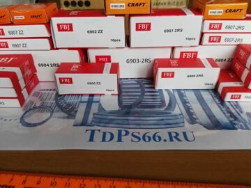 Подшипники  FBJ 900 серии 6900 - TDPS66.RU