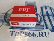 Подшипник  шариковый 6001 2RSC3  FBJ -TDPS66.RU