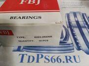 Подшипники    6203-2RSNR  FBJ-TDPS66.RU