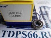 Подшипник  6800 2RS  NIS-TDPS66.RU