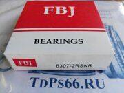 Подшипник  6307 2RSNR  FBJ -TDPS66.RU