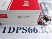 Подшипник FBJ 6801 2Z  -TDPS66.RU