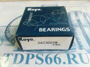 Подшипник DAC3055W KOYO   -TDPS66.RU
