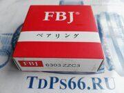 Подшипник  6303 ZZC3   FBJ -TDPS66.RU