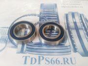 Подшипник 100 серии  6006 2RS   APP -TDPS66.RU