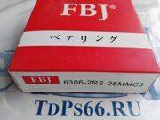 Подшипник  6306 2RS-25MMC3  FBJ -TDPS66.RU