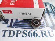 Подшипник  606 2RS FBJ 6x17x6   -TDPS66.RU