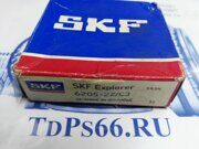 Подшипник  SKF   6205-ZZ C3 - TDPS66.RU
