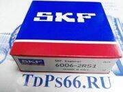 Подшипник      6006-2RS1  SKF - TDPS66.RU