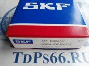 Подшипник  6304 2RSHC3 SKF -TDPS66.RU