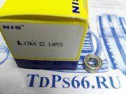 Подшипник  L1360 ZZ NIS - TDPS66.RU