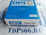 Подшипник  6006 2RS DPI -TDPS66.RU