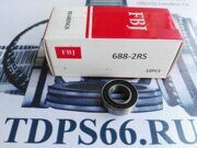 Подшипник  618-5 2RS  8x16x5 FBJ -TDPS66.RU