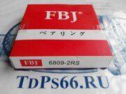 Подшипник   6809 2RS FBJ-TDPS66.RU