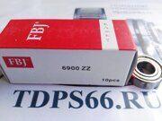 Подшипник FBJ 6900 ZZ -TDPS66.RU