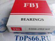 Подшипник  6306 2RSNR  FBJ -TDPS66.RU