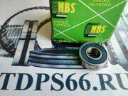 Подшипник     619-8 2RS 8x19x6 NBS -TDPS66.RU