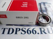 Подшипник  FBJ 6803 2RS -TDPS66.RU