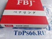 Подшипник  6909 2RS  FBJ -TDPS66.RU