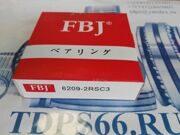 Подшипник  шариковый 6209 2RSC3  FBJ -TDPS66.RU