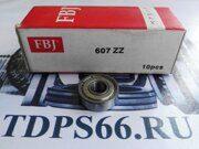 Подшипник   607 ZZ 7x19x6 FBJ   -TDPS66.RU