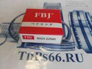 Подшипник  шариковый 6002 ZZNR  FBJ -TDPS66.RU
