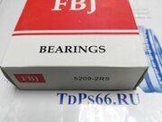 Подшипник  5209-2RS  FBJ- TDPS66.RU