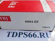 Подшипник FBJ 6903 ZZ -TDPS66.RU