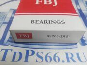 Подшипник      62206-2RS  FBJ -TDPS66.RU