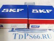 Подшипник шариковый   6209  SKF - TDPS66.RU
