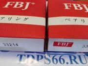 Подшипники   33214 (3007214)      FBJ-TDPS66.RU