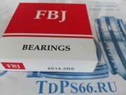 Подшипник 100 серии 6014 2RS FBJ -TDPS66.RU