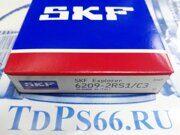 Подшипник  SKF   6209-2RS1 C3 - TDPS66.RU