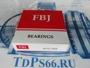 Подшипник 100 серии 6010 2RS  FBJ -TDPS66.RU