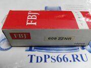 Подшипник  эскалатора 608 ZZNR FBJ -TDPS66.RU
