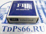Подшипник 63000 2RS FBJ - TDPS66.RU