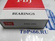 Подшипник  5208-2RS  FBJ- TDPS66.RU