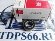 Подшипник  6800 2RS  FBJ-TDPS66.RU