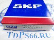 Подшипник  SKF   6210-2RS1  - TDPS66.RU
