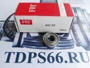 Подшипник    697 ZZ 7x17x5 FBJ -TDPS66.RU