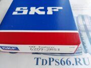 Подшипник 6209-2RS1 SKF - TDPS66.RU