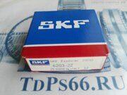 Подшипник     6203 2Z SKF -TDPS66.RU