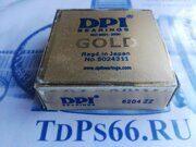 Подшипник     6204 ZZ DPI -TDPS66.RU