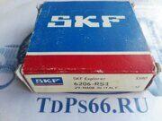 Подшипник     6206 2RS1  SKF -TDPS66.RU