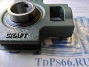 Корпусной   подшипник UCT203 CRAFT- TDPS66.RU