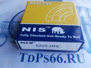 Подшипник     6205 2RS  NIS -TDPS66.RU