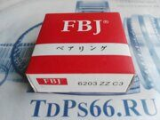 Подшипник     6203 ZZC3 FBJ -TDPS66.RU