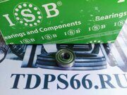 Подшипник    696 ZZ 6x15x5 ISB -TDPS66.RU