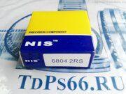 Подшипник  6804 2RS  NIS-TDPS66.RU